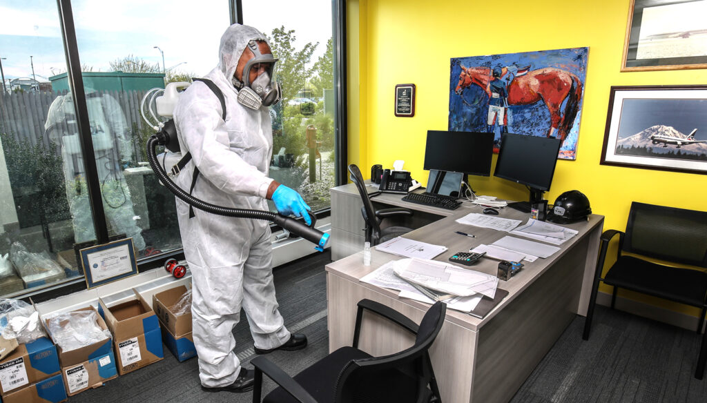 Aqueous Solutions Office COVID-19 Disinfection New York